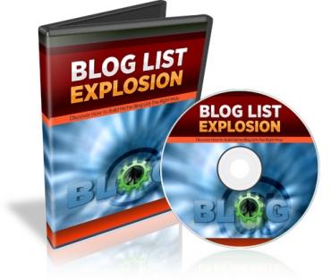 Blog List Explosion