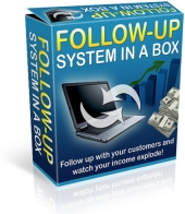 Follow Up System In A Box Private Label Rights