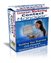 Internet Marketing Contact Manager Private Label Rights
