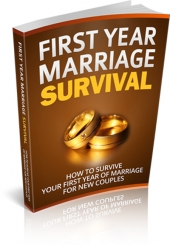 First Year Marriage Survival Private Label Rights