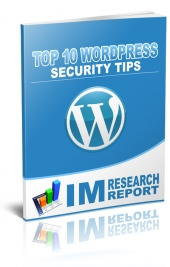 WordPress Security Tips Private Label Rights