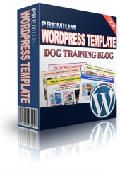 Dog Training PLR Niche Blog Private Label Rights
