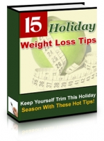 15 Holiday Weight Loss Tips Private Label Rights