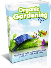 Organic Gardening Tips Private Label Rights