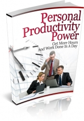 Personal Productivity Power Private Label Rights