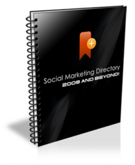 Social Marketing Directory 2008 And Beyond