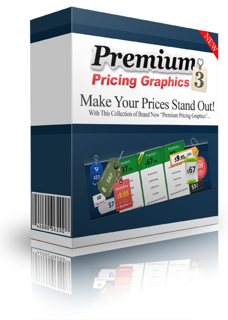 Premium Pricing Graphics Version 3