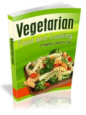 Vegetarian Food and Cooking Private Label Rights