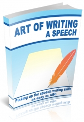 The Art of Writing a Speech Private Label Rights