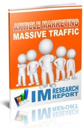 Article Marketing Massive Traffic Private Label Rights