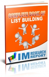 Complete Book of List Building Private Label Rights
