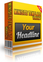 Minisite Template Version 7 Private Label Rights