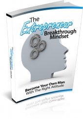The Entrepreneur Breakthrough Mindset Private Label Rights