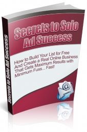 Secrets to Solo Ad Success Private Label Rights