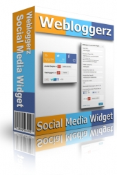 Webloggerz Social Media Widget Private Label Rights