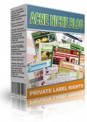 Acne Niche Blog Private Label Rights