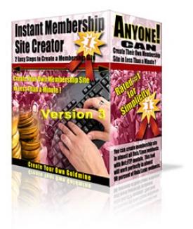 Instant Membership Site Creator