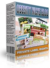 Obesity Niche Blog Private Label Rights