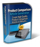 Product Comparison Article Generator Private Label Rights