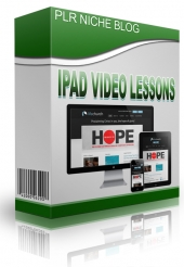 iPad Video Lessons Niche Blog Private Label Rights