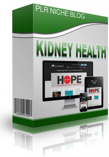 Kidney Health Niche Blog