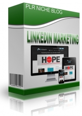 LinkedIn Marketing Niche Blog Private Label Rights