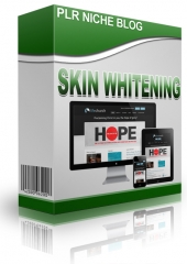 Skin Whitening Niche Blog Private Label Rights
