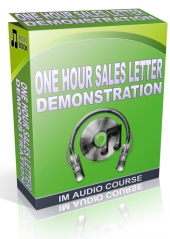 One Hour Sales Letter Demonstration Private Label Rights