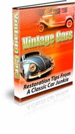 Vintage Cars Private Label Rights