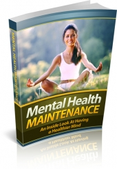 Mental Health Maintenance Private Label Rights