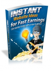 Instant Website Ideas for Fast Earnings Private Label Rights