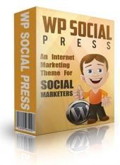 WP Social Media Press Theme Private Label Rights