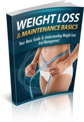 Weight Loss And Maintenance Basics Private Label Rights