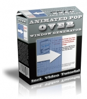 Animated Pop Over Window Generator Private Label Rights