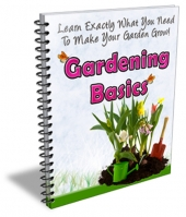 Gardening Basics Newsletter Private Label Rights