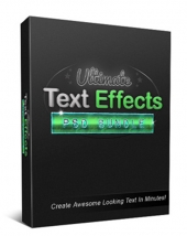 Ultimate Text Effects PSD Bundle Private Label Rights