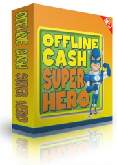Offline Cash Super Hero Private Label Rights