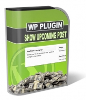 Show Upcoming Posts Plugin Private Label Rights