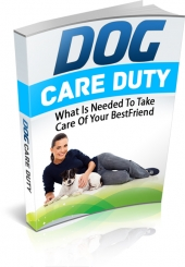 Dog Care Duty Private Label Rights