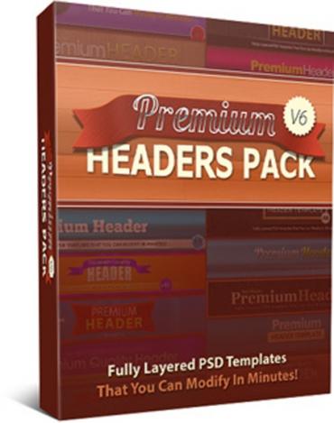 Premium Headers Pack V6
