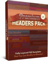 Premium Headers Pack V6 Private Label Rights