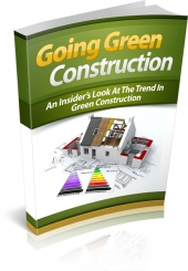 Going Green Construction Private Label Rights