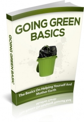 Going Green Basics Private Label Rights