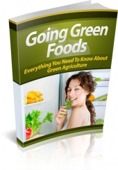 Going Green Foods Private Label Rights