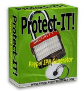 Protect-IT! PayPal IPN Generator