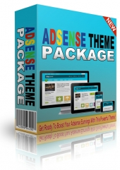Adsense Premium WordPress Theme Package Private Label Rights