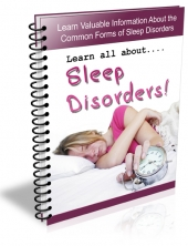 Sleep Disorders 2013 Private Label Rights