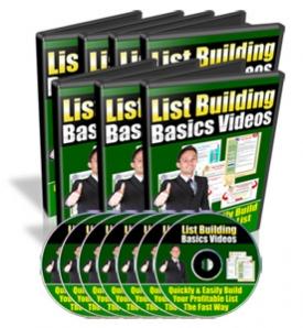 List Building Basics Videos