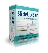 SlideUp Bar Plugin Private Label Rights