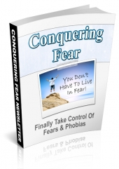 Conquering Fear Newsletter Private Label Rights